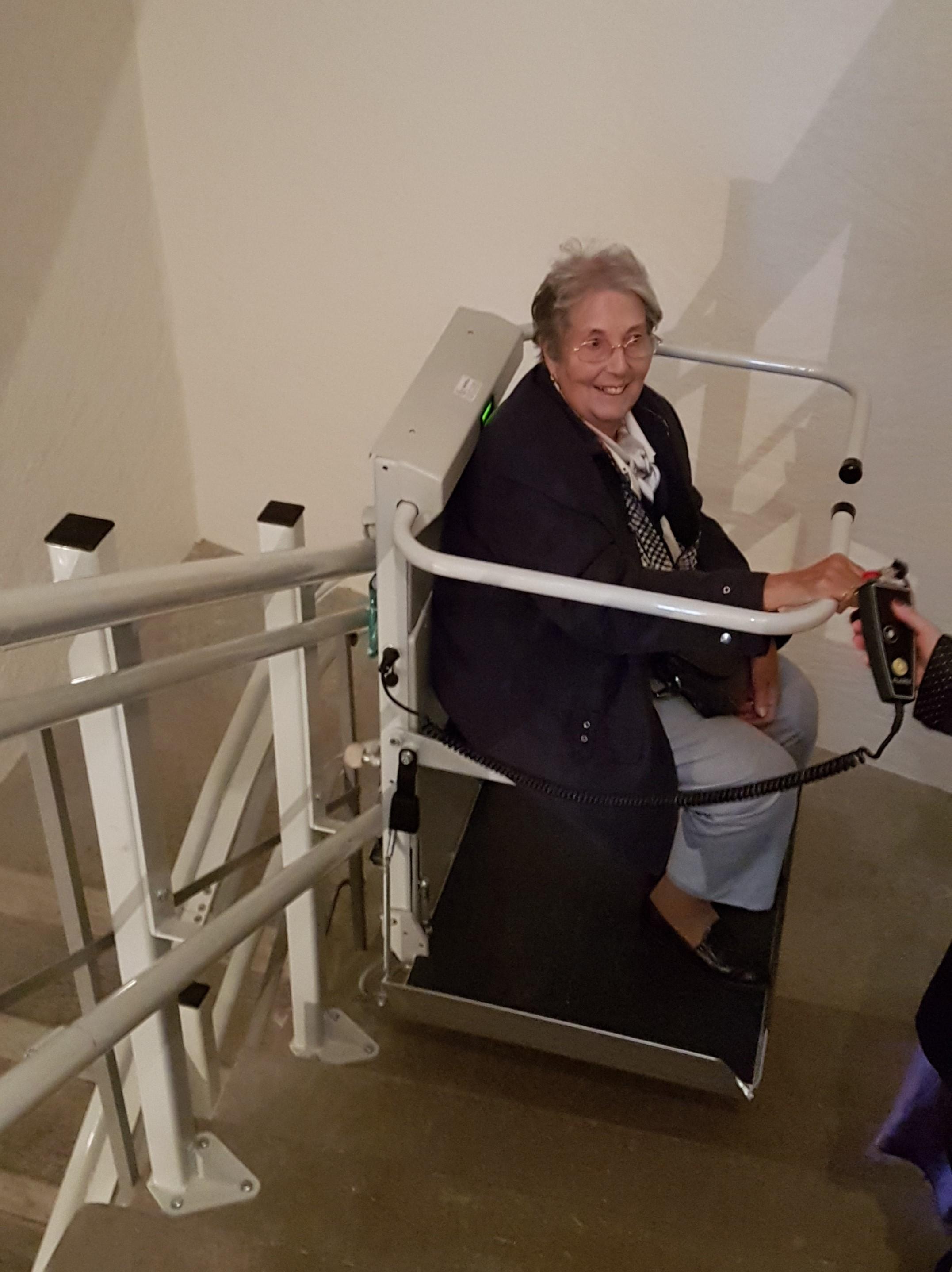 Ascenseur pour personnes en situation de handicap